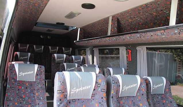 Салон Mercedes Sprinter 315 CDI