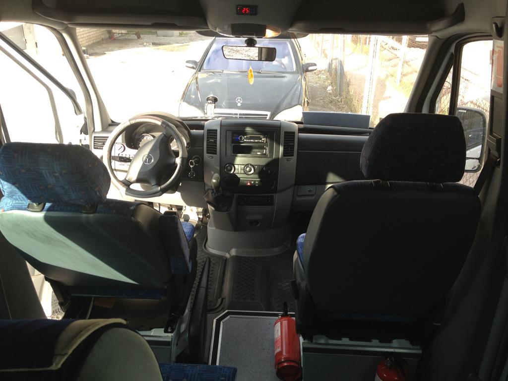 Место водителя Mercedes Sprinter 515 CDI