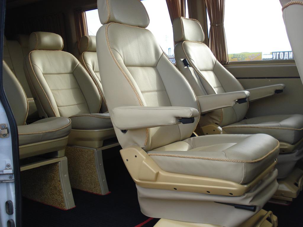 Салон Mercedes Dodge Sprinter